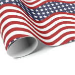 OLD GLORY! (patriotic flag design) ~ Wrapping Paper