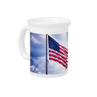 Old Glory Pitcher