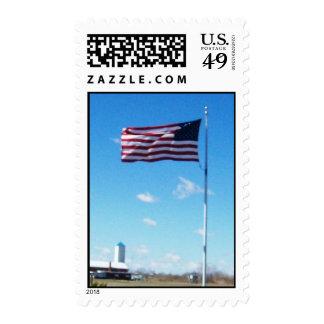 Old Glory Postage Stamp