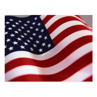 old glory post card