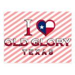 Old Glory, Texas Postcard