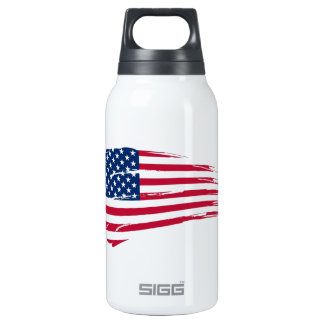 Old Glory Thermos Water Bottle