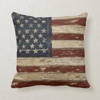 Old Glory Throw Pillow