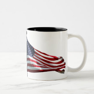 Old Glory Two-Tone Coffee Mug
