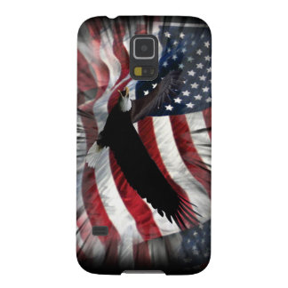 Old Glory with Eagle Cases For Galaxy S5