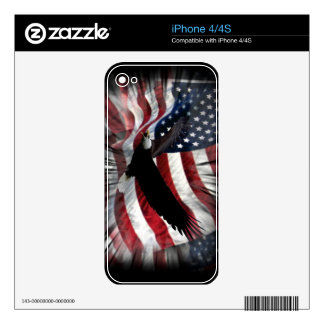 Old Glory with Eagle Skins For The iPhone 4S