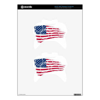 Old Glory Xbox 360 Controller Decal