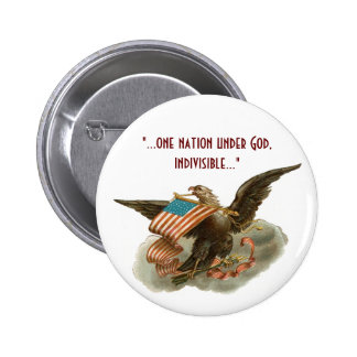 Old Glory's Eagle 2 Inch Round Button