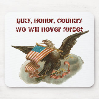 Old Glory's Eagle Mouse Pad