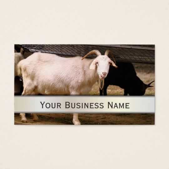 Old Goat Farm Animal Business Card
