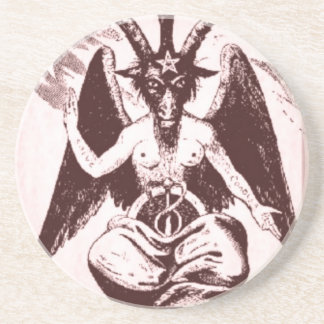 Old Goat Of Me- Drink Coaster Or Ritual Alter Piec
