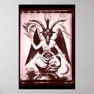 Old Goat Of Mendes Poster