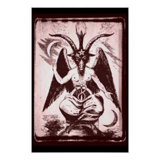 Old Goat Of Mendes Print