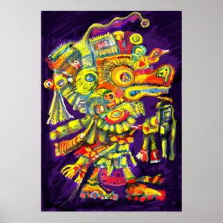 ***Old Gods II*** Albruno's digital painting. Print