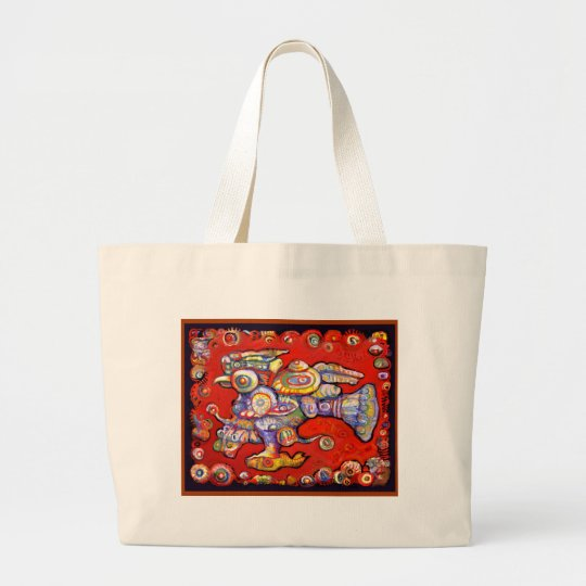 **Old Gods III** Large Tote Bag