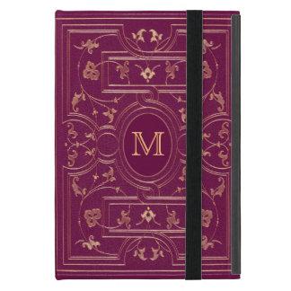 Old Gold Cerise Monogram Covers For iPad Mini