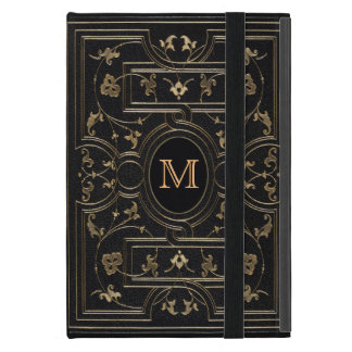 Old Gold Monogram Case For iPad Mini