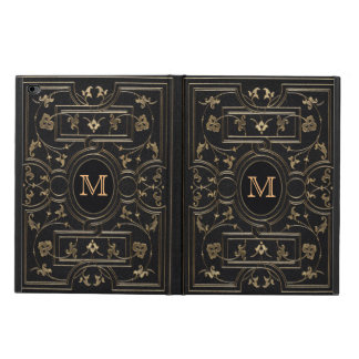 Old Gold Monogram Powis iPad Air 2 Case