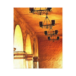 Old Golden Archway Canvas Print