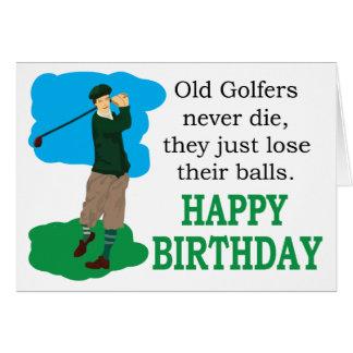 Happy Birthday Golfer Cards & Postage