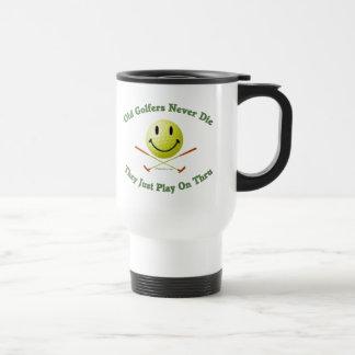 Old Golfers Never Die Play Thru Mugs