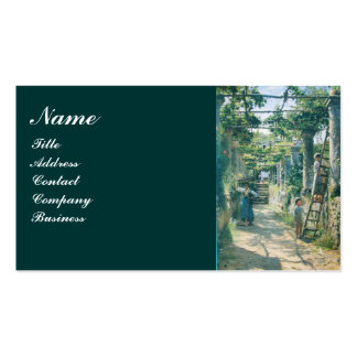 OLD GRAPE VINEYARD HARVEST WINE TASTING PARTY Double-Sided STANDARD BUSINESS CARDS (Pack OF 100)