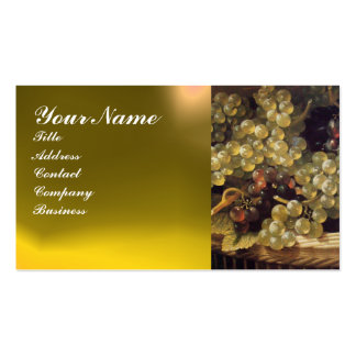 OLD GRAPE VINEYARD ,RED WAX SEAL Double-Sided STANDARD BUSINESS CARDS (Pack OF 100)