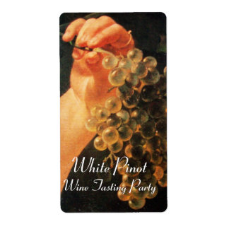 OLD GRAPE VINEYARD,WHITE WINE TASTING PARTY LABELS