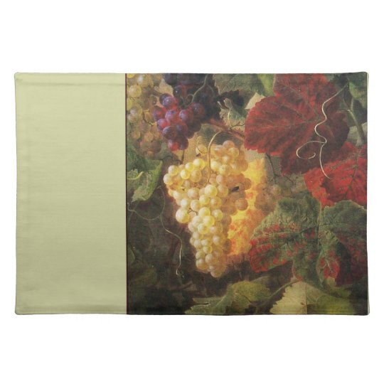 OLD GRAPE VINEYARD WINE TASTING PARTY PLACEMAT