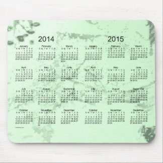 Old Green Paint 2 Year 2014-2015 Calendar Mousepad Mouse Pads