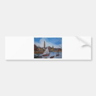 Old Greenock Harbour Bumper Sticker