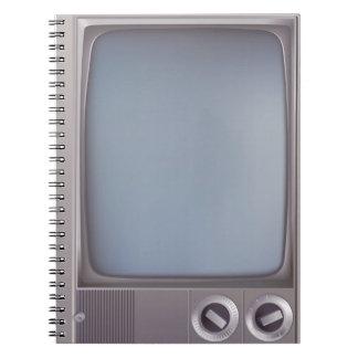Old grey TV Libro De Apuntes