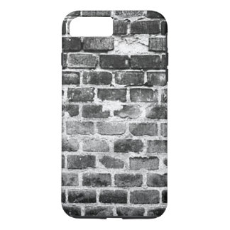 Old Grey Weathered Brick Wall Texture iPhone 8 Plus/7 Plus Case