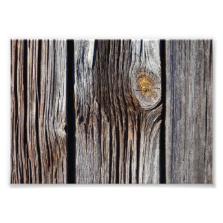 Old grey wooden boards photo art
