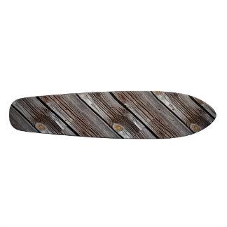 Old grey wooden boards skate board decks