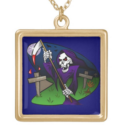 Old Grim Personalized Necklace