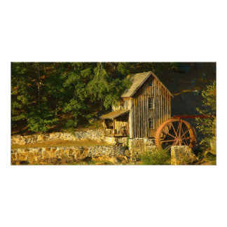 Old Grist Mill in GA Card