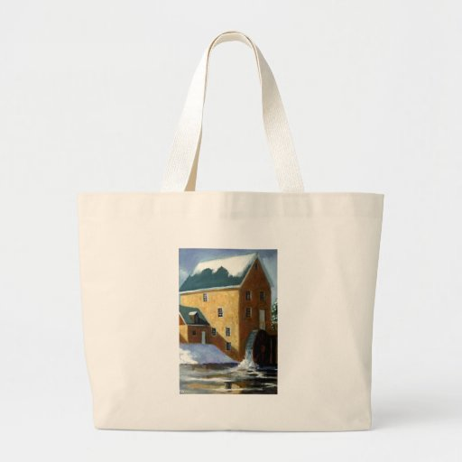 OLD GRIST MILL PAINTING BAG
