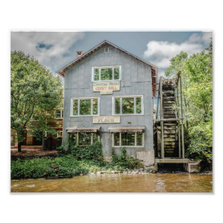 Old Grist Mill Photography Print Photo Print