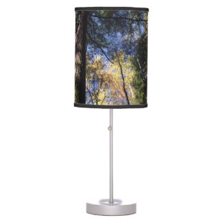 old growth hemlock tree desk lamp