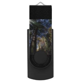 old growth hemlock tree swivel USB 2.0 flash drive