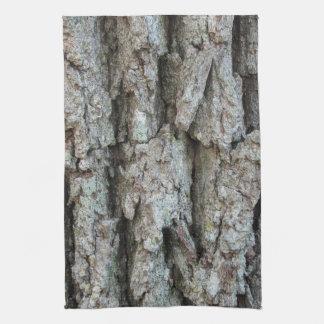 Old Growth Oak Bark Kitchen Towel