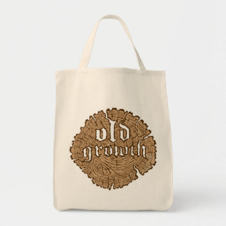 Old Growth Tote Bags