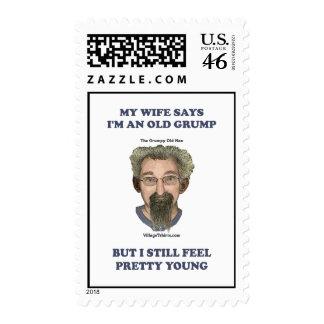 Old Grump Wife Says Postage