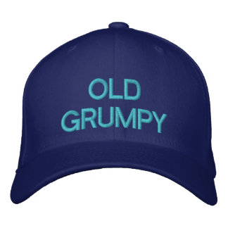 OLD GRUMPY - Customizable Cap by eZaZZaleMan