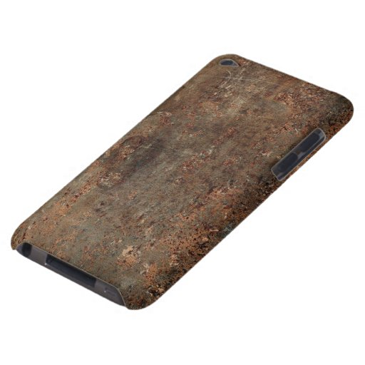 Old Grungy Leather Print iPod Case-Mate Case