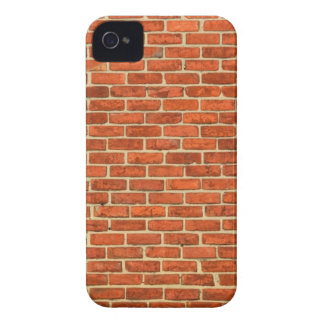 Old Grungy Red Orange Brick Wall Facade Structure Case-Mate iPhone 4 Case
