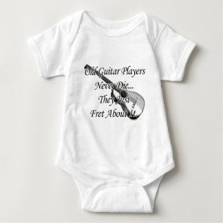 Old Guitar Players Baby Bodysuit