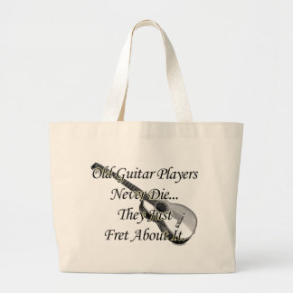 Old Guitar Players Canvas Bag