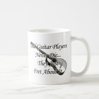 Old Guitar Players Classic White Coffee Mug